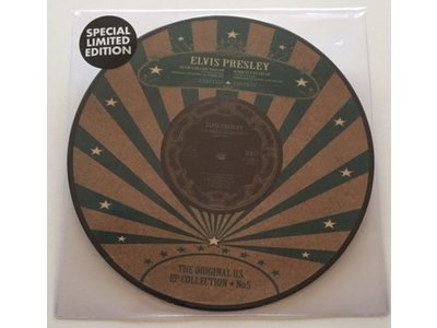 Elvis Presley - The Original U.S. EP Collection No. 5 - Vinyl Picture Disc