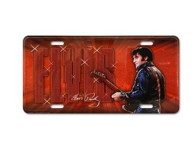 Kenteken - Elvis '68 Comeback