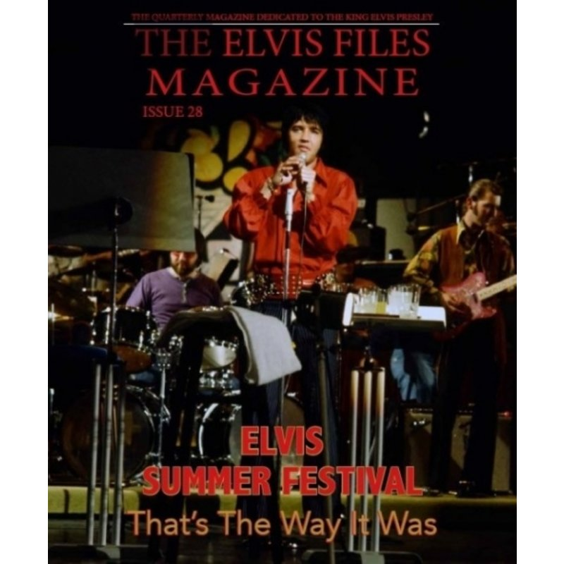 Elvis Files Magazine - Nr. 28
