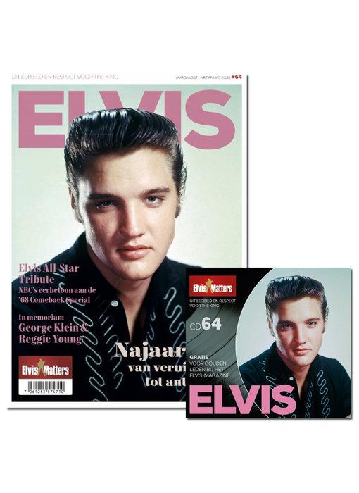 Magazine With CD - ELVIS 64