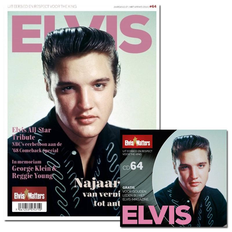Magazine Met CD - ELVIS 64