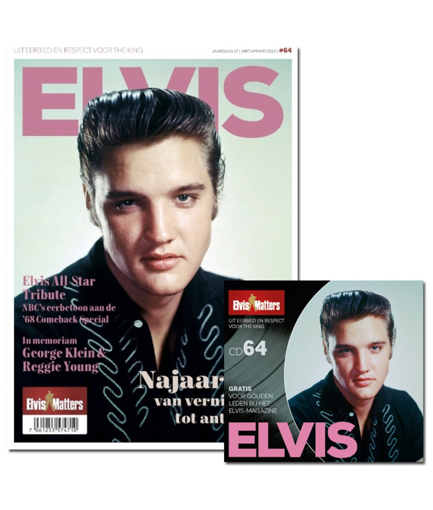 Magazine With CD - ELVIS 64