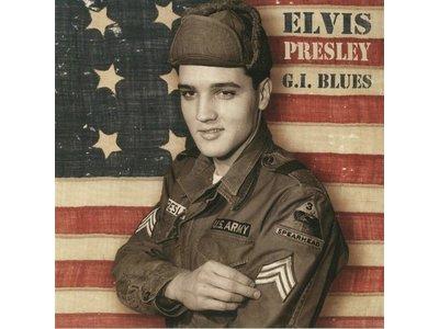 Elvis Presley - GI Blues Paper Sleeve Blacvk Vinyl - ReelToReel Label