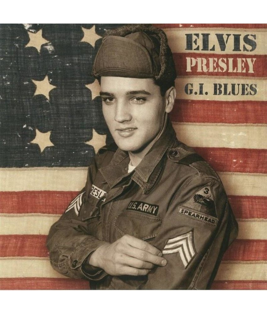 Elvis Presley - GI Blues Paper Sleeve Blacvk Vinyl - ReelToReel Label