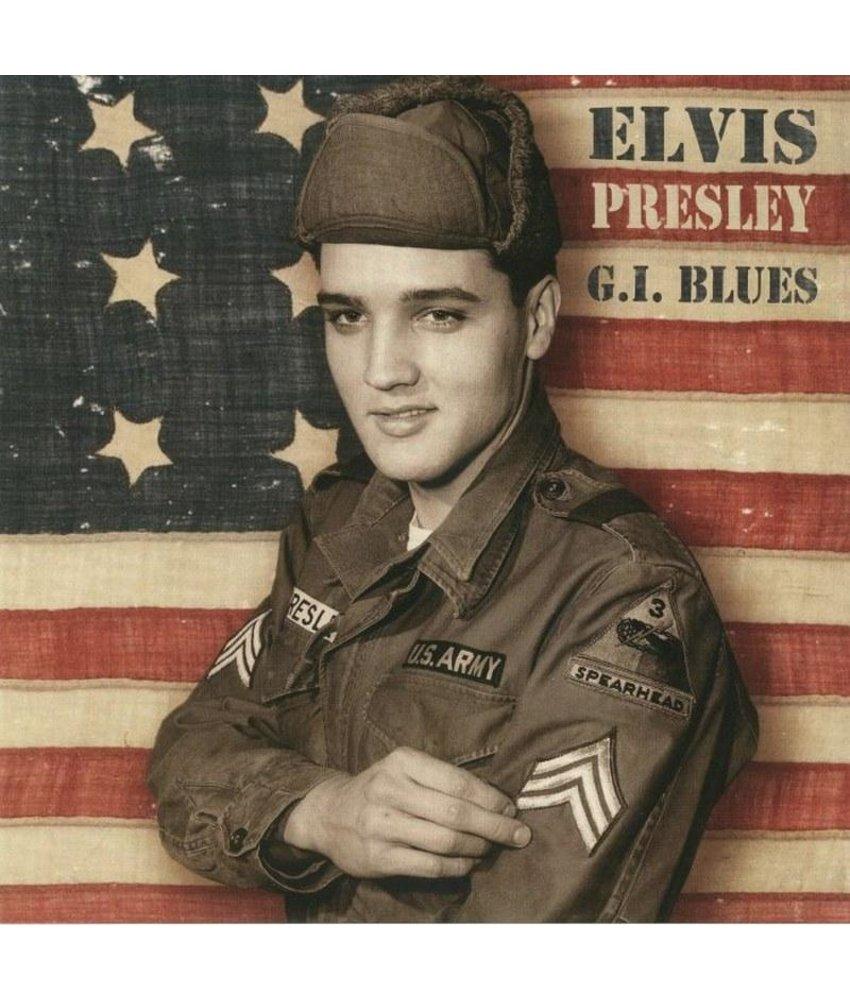 Elvis Presley - GI Blues Paper Sleeve Transparant  Vinyl - ReelToReel Label