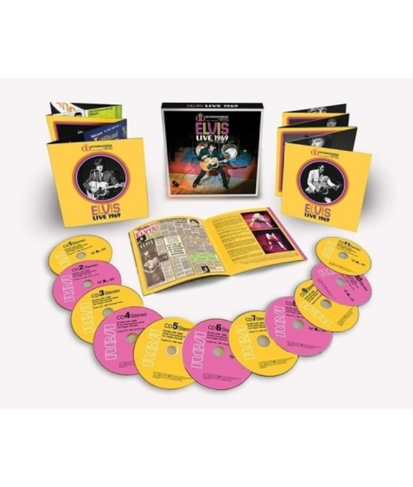 Elvis Live 1969 : 11 CD Box-Set