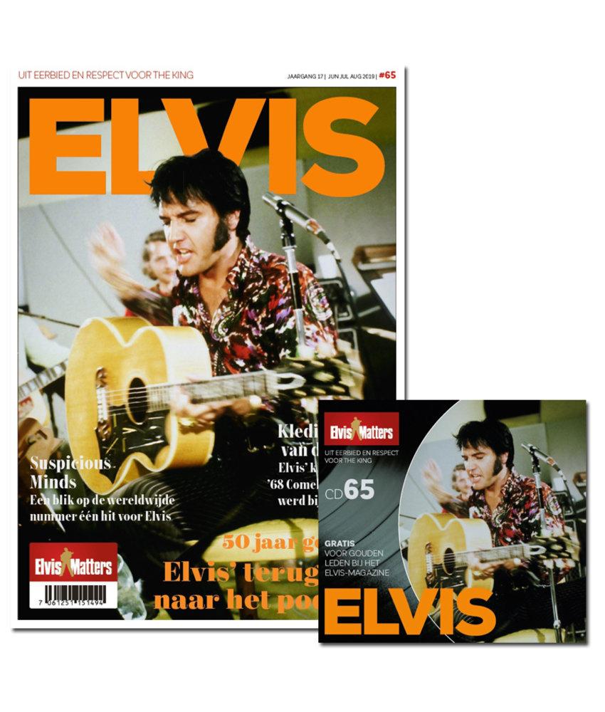 Magazine Met CD - ELVIS 65