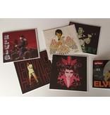 Elvis Wenskaarten - Set Van Vijf Stuks