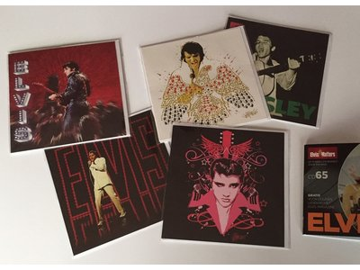 Elvis Greeting Cards - Set Of Five Pieces