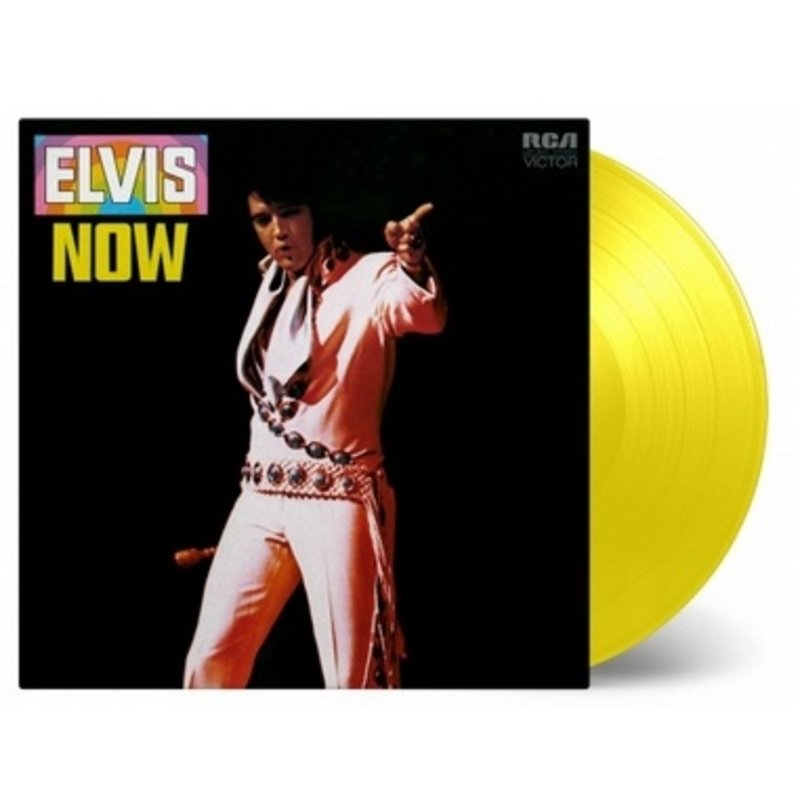 Elvis Now - Yellow Colored Vinyl Juli 2019 Release - Music On Vinyl RCA Label