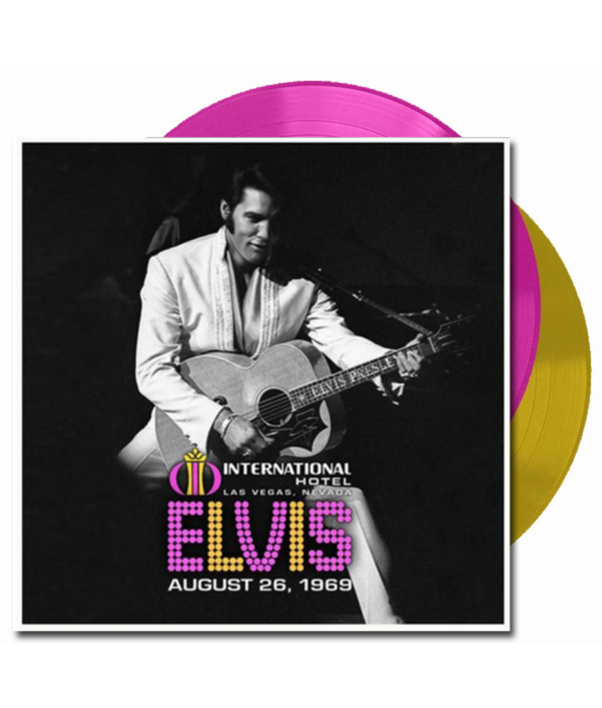Elvis Live The International Hotel 26 augustus 1969 - Colored Graceland Exclusiv Vinyl Augustus 2019