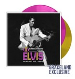 Elvis Live At The International Hotel 26 augustus 1969 - Colored Graceland Exclusiv Vinyl Augustus 2019