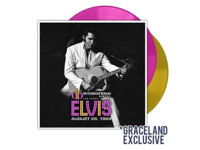 Elvis Live At The International Hotel 26 augustus 1969 - Colored Graceland Exclusiv Vinyl Augustus 2019