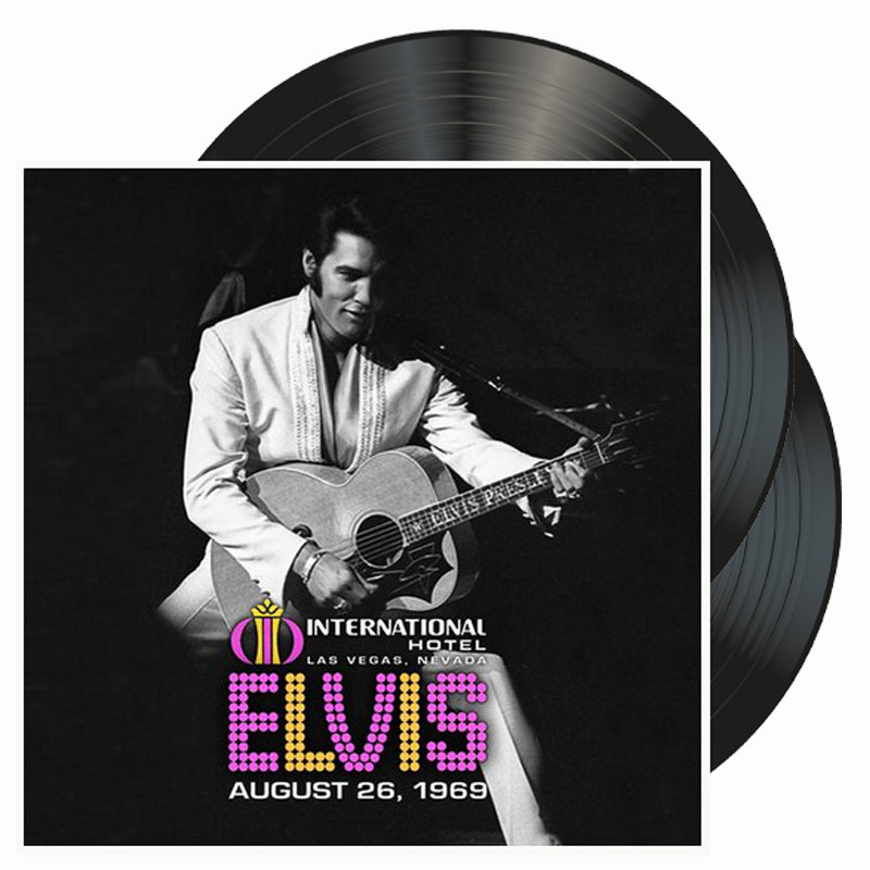 Elvis Live At The International Hotel 26 Augustus 1969 - Legacy Vinyl Augustus 2019
