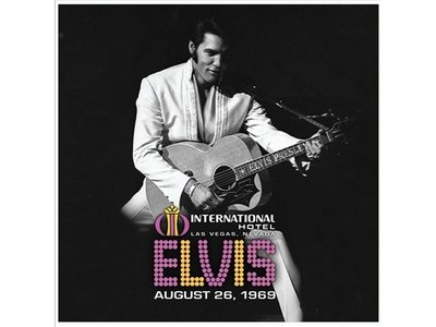 Elvis Live At The International Hotel August 26, 1969 - Legacy Vinyl August 2019