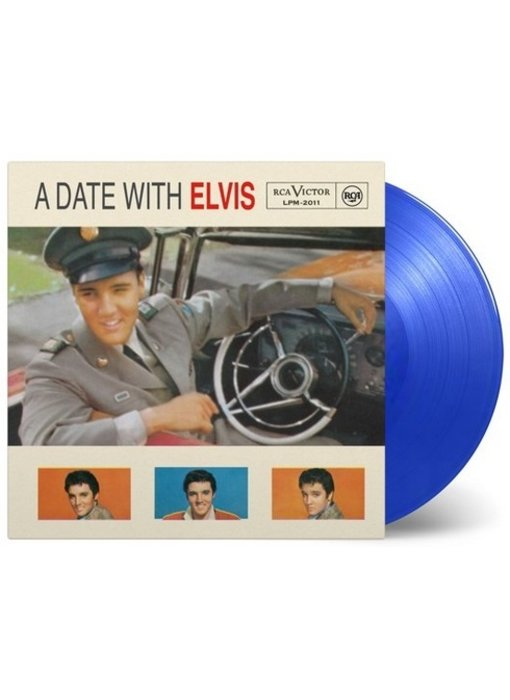 A Date With Elvis - Blue Vinyl Augustus 2019 Release
