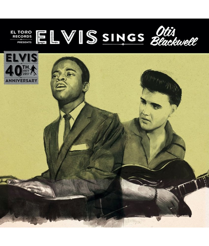 Elvis Sings Otis Blackwell - El Toro Records - 45 RPM Vinyl