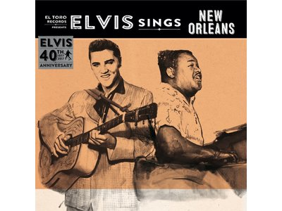 Elvis Sings New Orleans - El Toro Records - 45 RPM Vinyl