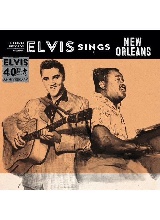 Elvis Sings New Orleans - El Toro Records - 45 RPM Vinyl