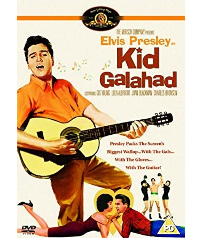 DVD - Elvis in Kid Galahad