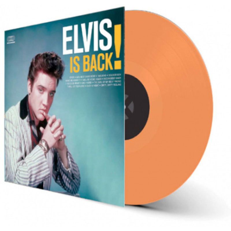 Elvis Is Back - Colored Orange Vinyl 33 RPM