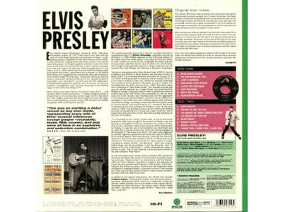 Elvis Presley - Colored Green Vinyl 33 RPM