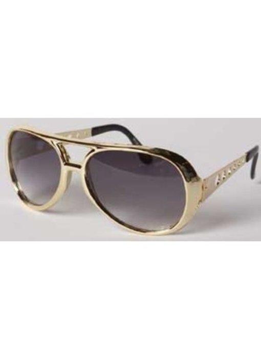 Elvis Sunglasses Seventies - Gold