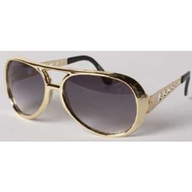 Elvis Sunglasses Seventies - Gold