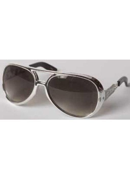 Elvis Sunglasses Seventies - Silver