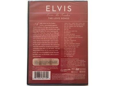 Love Me Tender - The Love Songs DVD