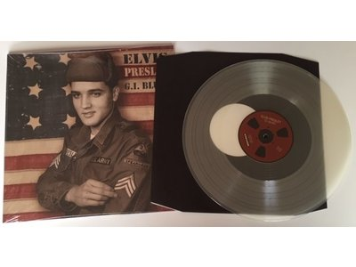 Elvis Presley - GI Blues Paper Sleeve Transparant Vinyl - ReelToReel Label