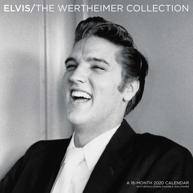 Kalender 2020 - Elvis 16 Maanden - The Wertheimer Collection