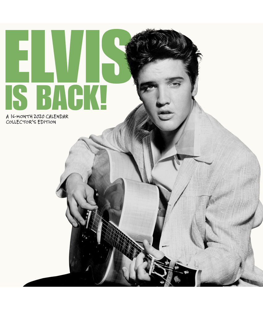 Kalender 2020 - Elvis Is Back! - 16 Maanden - Collector's Edition