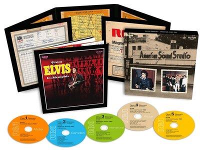 Elvis: American Sound Sessions 1969 - FTD 5-CD Set