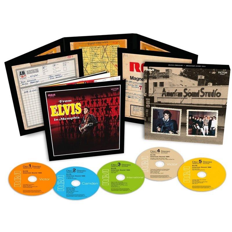 Elvis : American Sound Sessions 1969 - FTD 5-CD Set
