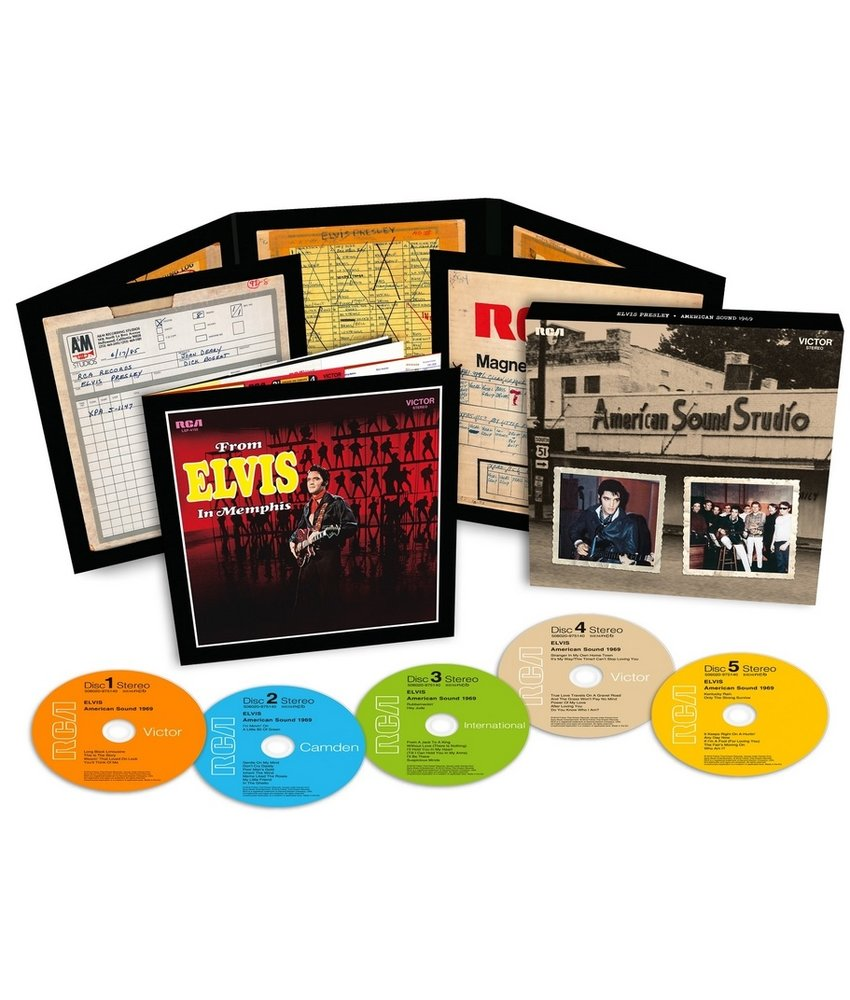 Elvis : American Sound Sessions 1969 - FTD 5-CD Set