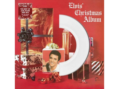 Elvis' Christmas Album On White Vinyl 33RPM