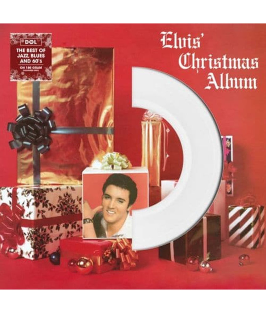 Elvis' Christmas Album On White Vinyl 33RPM