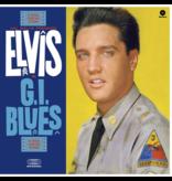 Elvis In GI Blues - 33 RPM Vinyl Wax Time Label