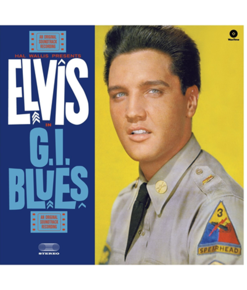 Elvis In GI Blues - 33 RPM Vinyl Wax Time Label
