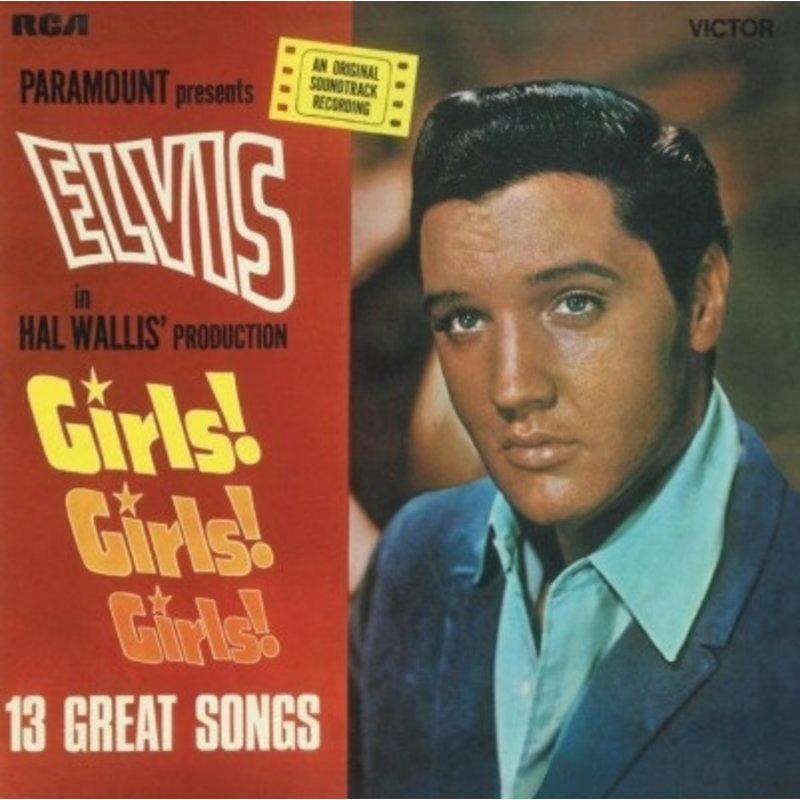 Girls! Girls! Girls! - Elvis At The Movies 33 RPM Music On Vinyl RCA Label
