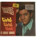 Girls! Girls! Girls! - Elvis At The Movies 33 RPM Music On Vinyl RCA Label