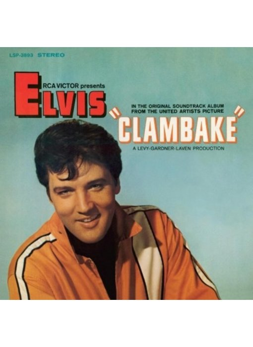 Clambake - Elvis At The Movies 33 RPM Music On Vinyl RCA Label
