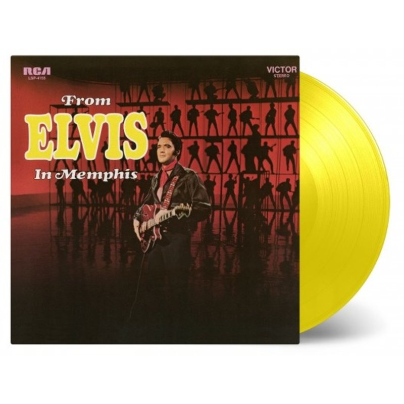 From Elvis In Memphis - Yellow Vinyl  33 RPM Music On Vinyl RCA Label