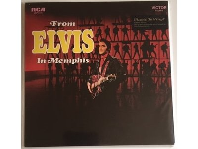 From Elvis In Memphis - 33 RPM Music On Vinyl RCA Label