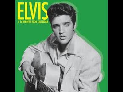 Kalender 2020  - Elvis Jailhouse Rock Klein 16 maanden