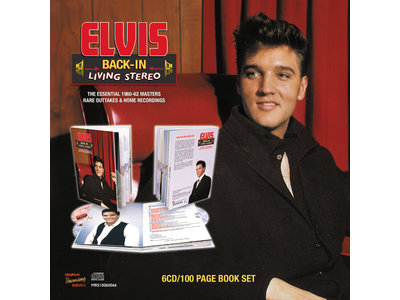 MRS - Elvis Back In Living Stereo - The Essential 1960-62 Masters - 6 CD  100 PageBook Set
