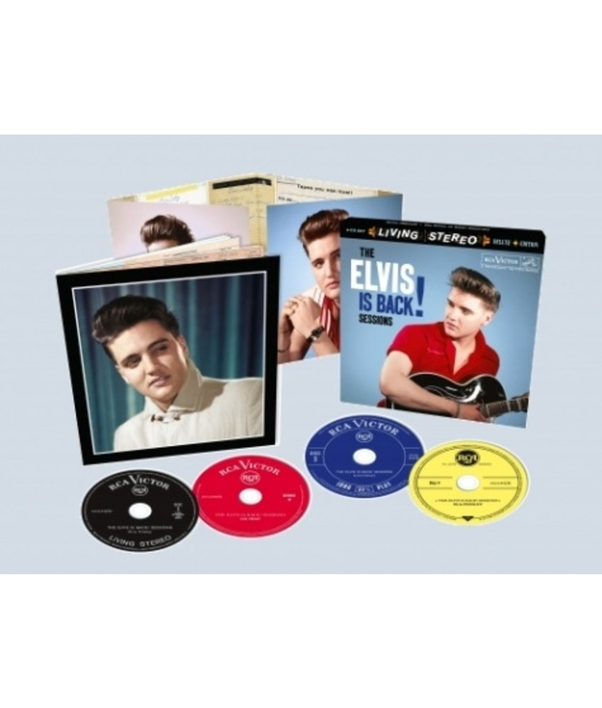 Elvis: The Elvis Is Back Sessions 1960 - FTD 4-CD Set