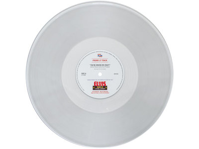 You're Driving Me Crazy - Anita Wood Calls Elvis Presley - Promo Clear Vinyl LP