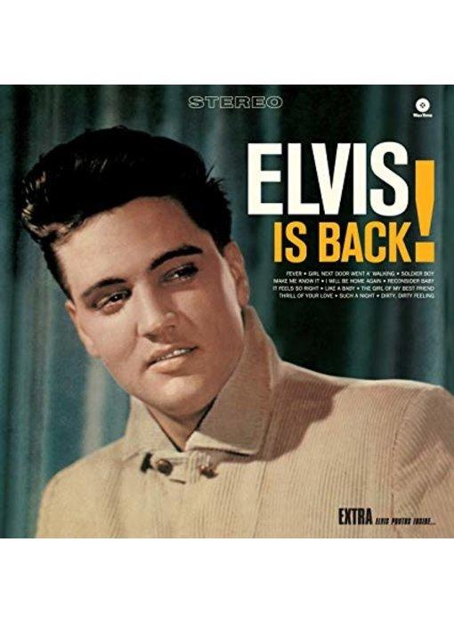 Elvis Is Back! - 33 RPM Vinyl Wax Time Label